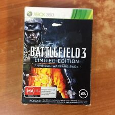 Xbox 360 Game - Battlefield 3 Limited Edition - Excellent Condition