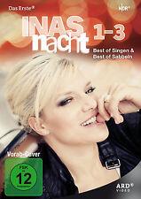 "6 DVDs * INAS NACHT - BEST OF SINGEN & BEST OF SABBELN 1-3 * MÜLLER # NEU OVP """