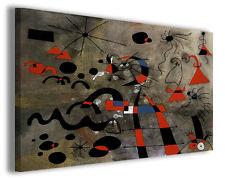 Quadri famosi Joan Mirò vol XI Stampa su tela arredo moderno arte design canvas