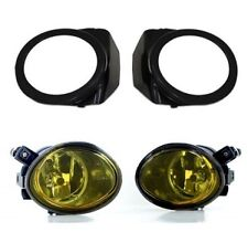 Pair of sport foglamps fog foglights fogs YELLOW, Fit BMW E46 E39, Msport, M3 M5