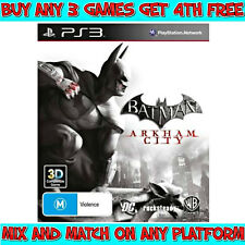 BATMAN ARKHAM CITY Game (Playstation 3, PS3) Australian M Rating