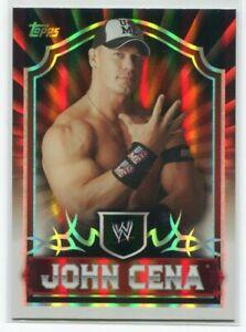 2011 Topps WWE Classic Gold 33 John Cena