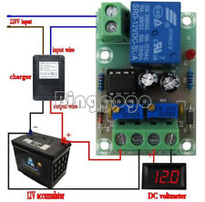 12V Smart Charger Power Control Board Storage Battery Charging Controller Module