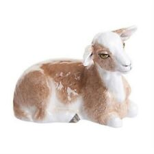More details for john beswick farmyard collectors figurine - brown & white goat