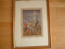 Religiöses & biblisches künstlerische Malereien aus 1900-1949