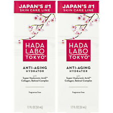 2 Pack Hada Labo Tokyo Anti-Aging Hydrator 1.7 Ounce each