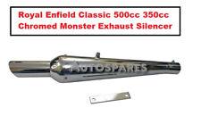 Royal Enfield Classique 500cc 350cc Chromé Monster Silencieux Échappement