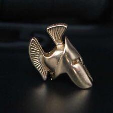 Spartan Paracord Granos Encantos de metal sólido Cráneo Pulsera accesorios Supervivencia Di