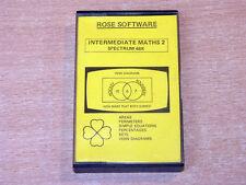 Sinclair ZX Spectrum - Intermediate Maths 2 by Rose Software