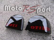 Golf 3 III schwarze Rückleuchten GTI Logo Black Taillights