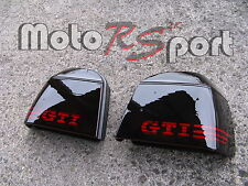 Golf 3 III schwarze Rückleuchten GTI Logo Black Tail Lights