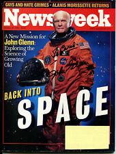 JOHN GLENN - NEWSWEEK Magazine (October 26, 1998) - SIGNED