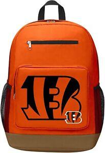 "NFL Cincinnati Bengals ""Playmaker"" Backpack, 18"" x 5"" x 13"""
