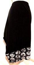 plus sz M 20 TS TAKING SHAPE On The Spot Skirt black Stretch lace hemline NWT!