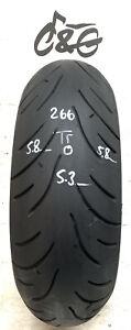 Bridgestone Battlax   Bt023r   190/50zr17 73w     Part Worn Motorcycle Tyre 266
