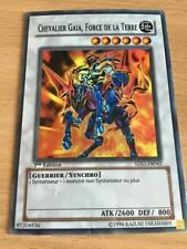 Carte Yu-Gi-Oh! 5DS1-FR042 Chevalier Gaia, Force de la Terre (Super Rare)