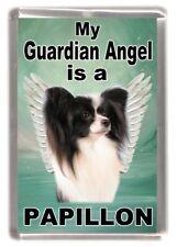 Papillon Dog /'Love You Mum/' Fridge Magnet Stocking Filler Christma AD-PA62lymFM