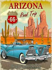 ROUTE 66 MOSAIC POSTER 24x36 COLLAGE USA FREEDOM ROAD CAR 22879