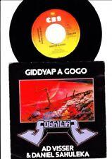 AD VISSER & DANIEL SAHULEKA-GIDDYAP A GOGO - 7 Inch Vinyl single Holland