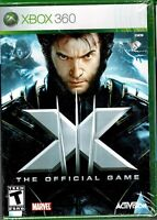 X-Men The Official Game Xbox 360 New Unleash Wolverine Iceman and Nightcrawler