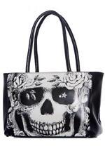 DTO. -10% ! BOLSO Tote-Shopping Grande JAWBREAKER Calavera Death Notice Skull BG
