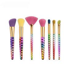 Pro 7Pcs honeycomb Makeup Brushes Cosmetic Tool Eyeshadow Powder Brush Set #EB19