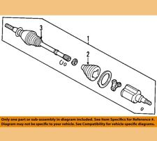 FORD OEM Front Drive-CV Shaft Axle Assy 5M6Z3A427AB 2005 - 2012 Escape