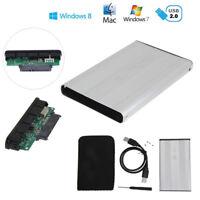 USB 2.0 2.5 Zoll Extern SATA HDD Festplatte Gehäuse Laptop Festplattegehäuse Neu