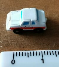 Micro Machines Insiders Micro Car white with red trim