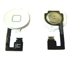 iphone 4 4G Home Menu Middle Function Button Key Keypad Flex Cable White UK