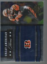 CHAD JOHNSON 2005 LEAF ROOKIES AND STARS GREAT AMERICAN HEROES BLUE #GAH-6  /250