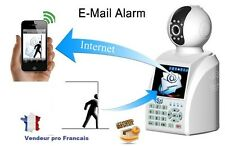 Camera IP Reseau Wifi IR Réseau Skype Vidéo surveillance Alarme Internet Blanc