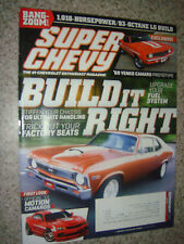 May 2011 Super Chevy Magazine: 1,018 HP/ 93-Octane LS Build, Official '11 Camaro