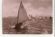 BELLA CARTOLINA DI riccione regata di dinghi dinghies