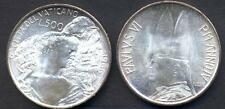 VATICANO PAOLO VI 500 LIRE AG 1966 FDC (UNC)