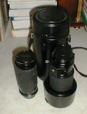 Tokina & Phoenix Zoom Lens for Minolta AT-X80-200mm 1:2.8 100-300 1:5:6-8:7 BOTH