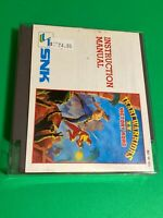 🔥 100% WORKING NINTENDO NES GAME CARTRIDGE - SNK IKARI WARRIORS 2 + MANUAL