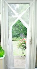 White Flying Insect Door Screen Curtain Bug Net Guard Fly Mosquito Netting