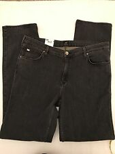 "BNWT LEE Marion Straight Fit Jeans. Dark grey. Size 36"" X 33"""
