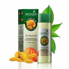 Biotique Bio Almond Oil Soothing Face & Eye Makeup Cleanser 120 Ml + Free Ship