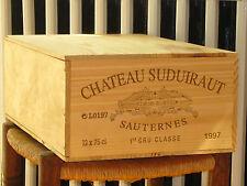 1997 CHATEAU SUDUIRAUT, 12 x 0,75l in OHK  !!! 90 PARKER !!!