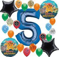 Lion Guard Party Supplies Happy Birthday Balloon Decoration Bundle (5th Birth...