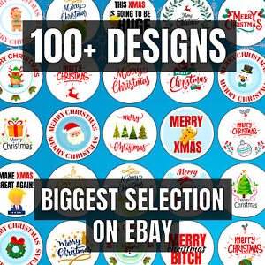 Christmas Stickers (70 PER PACK!!) - Christmas Labels / Christmas Gift Tags