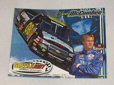 2006 CHAD McCUMBEE #08 CARMIN / GPS STORE NASCAR POSTCARD