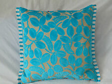 Designers Guild Velvet Calaggio-Turquoise Cushion Cover   Size available