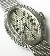 Bulova 5BD Movement Original Vintage 10K Rolled Gold Plate Wrist Watch S# P2285
