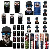 3D Biker Balaclava Cycling Neck Tube Scarf Snood Face Mask Warmer Bandana Comely