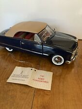 Franklin Mint 1949 Ford Custom Convertible 1/24 scale diecast model