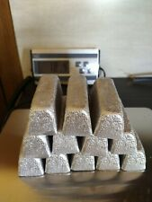 ~18 lbs Cleaned Lead Ingots for fishing sinkers, bullets, dive weights