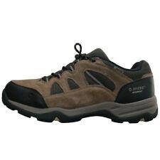 New listing Hi-Tec Mens Brown Bandera ll Low Top Lace Up Waterproof Hiking Boots Shoes Sz 13